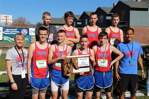 Boys XC State 2018