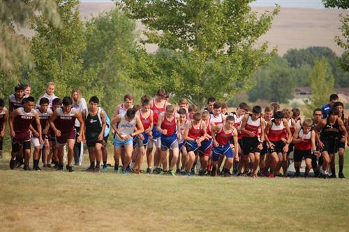 Boys start of Malta Invite